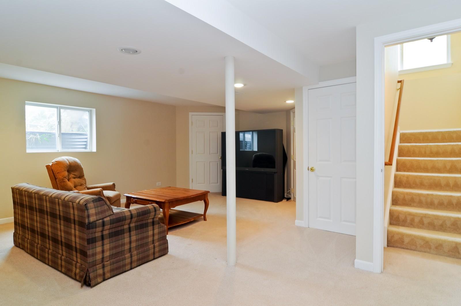 Real Estate Photography - 3461 Chadwick Lane, Lake in the Hills, IL, 60156 - Basement
