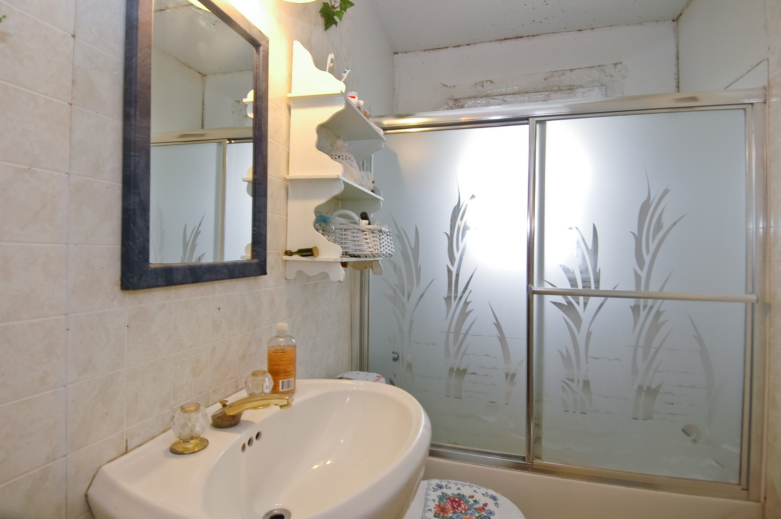 Real Estate Photography - 4220 Ponca St, McHenry, IL, 60050 - Bathroom