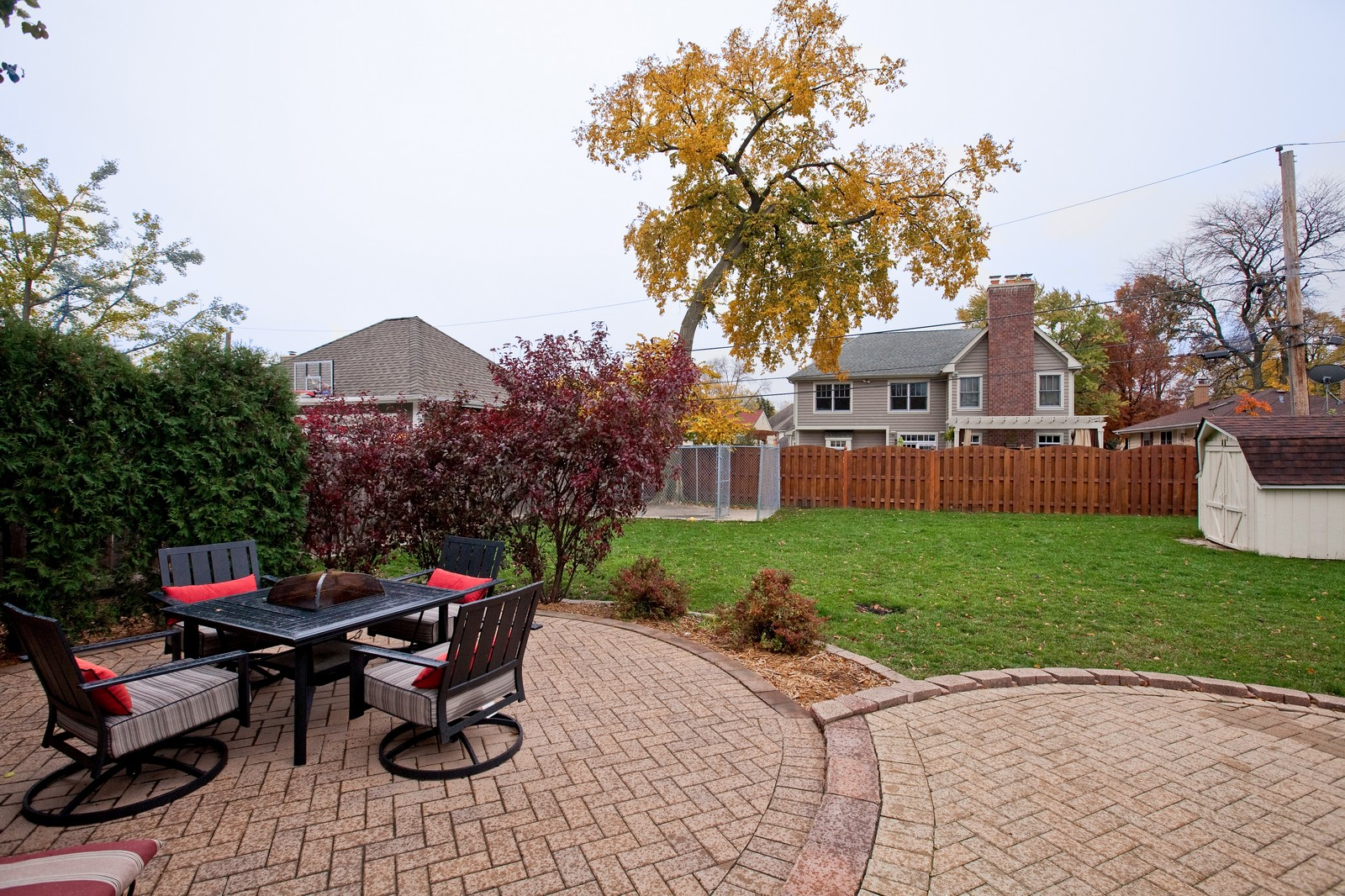 Real Estate Photography - 501 Grant St, Downers Grove, IL, 60515 - Back Yard