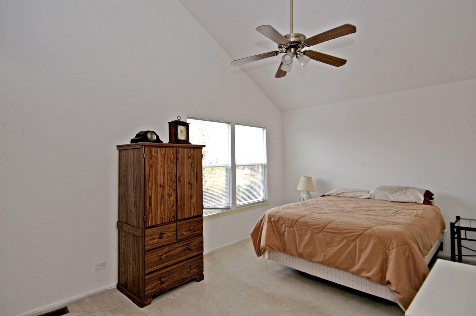 Real Estate Photography - 1764 Kennsington Ln, Crystal Lake, IL, 60014 - Master Bedroom
