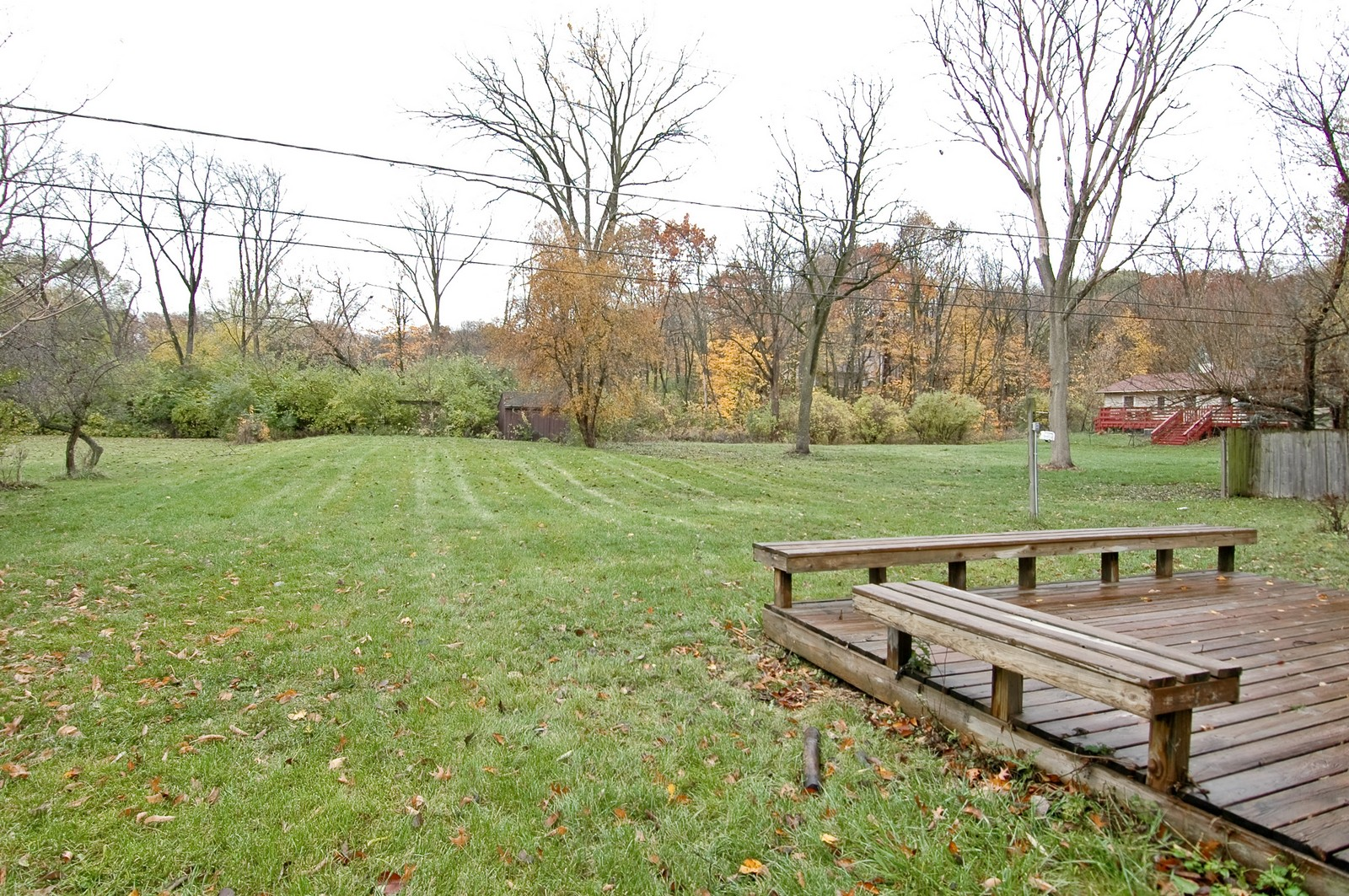 Real Estate Photography - 806 Rosemarie St, Lake in the Hills, IL, 60156 - Back Yard
