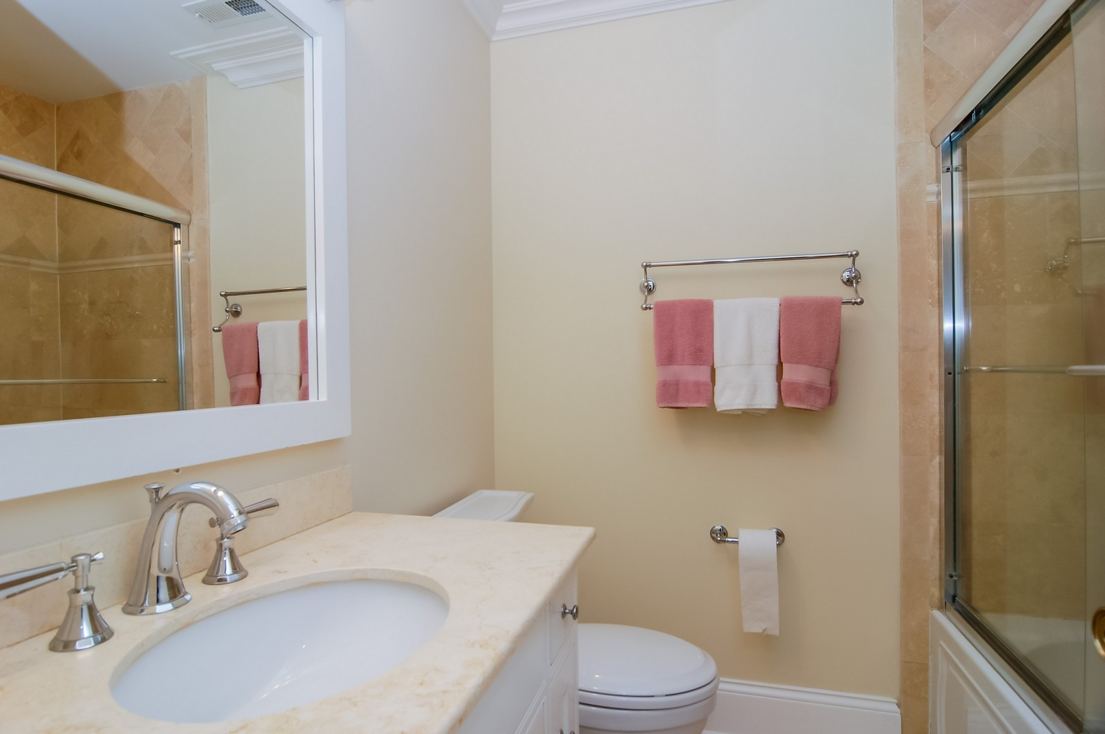 Real Estate Photography - 1655 Pheasant Trl, Inverness, IL, 60067 - 3rd Bathroom