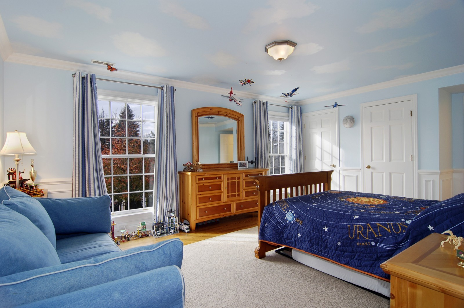 Real Estate Photography - 1655 Pheasant Trl, Inverness, IL, 60067 - Kids Bedroom