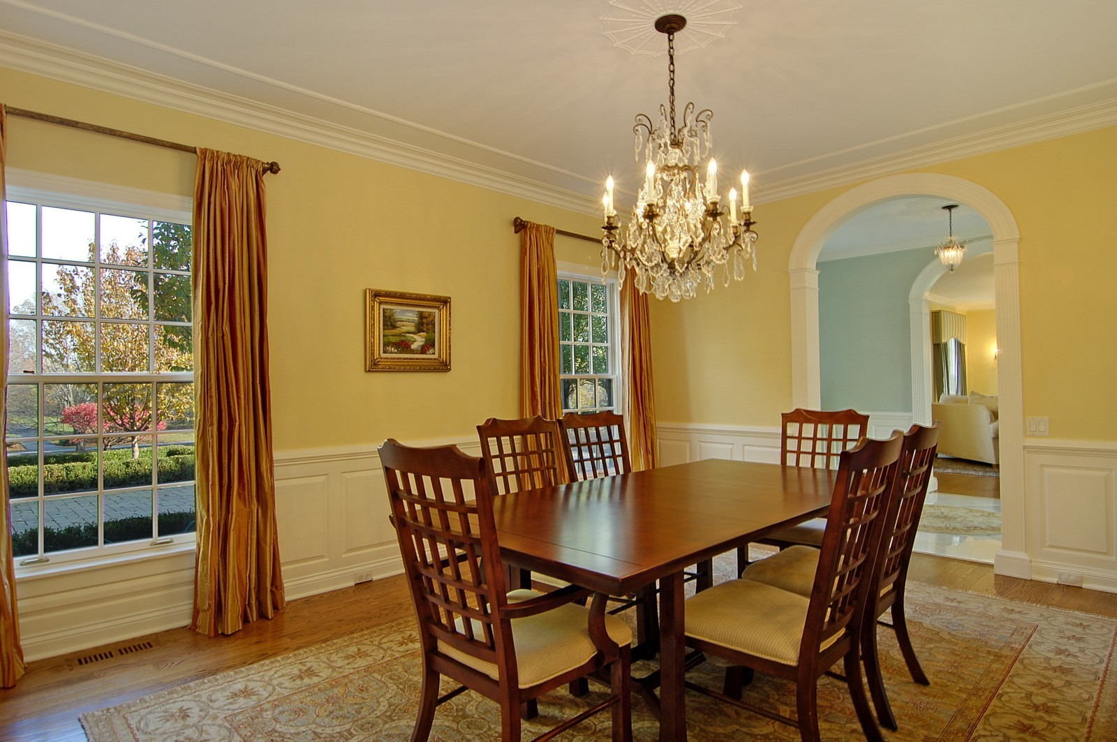 Real Estate Photography - 1655 Pheasant Trl, Inverness, IL, 60067 - Dining Room