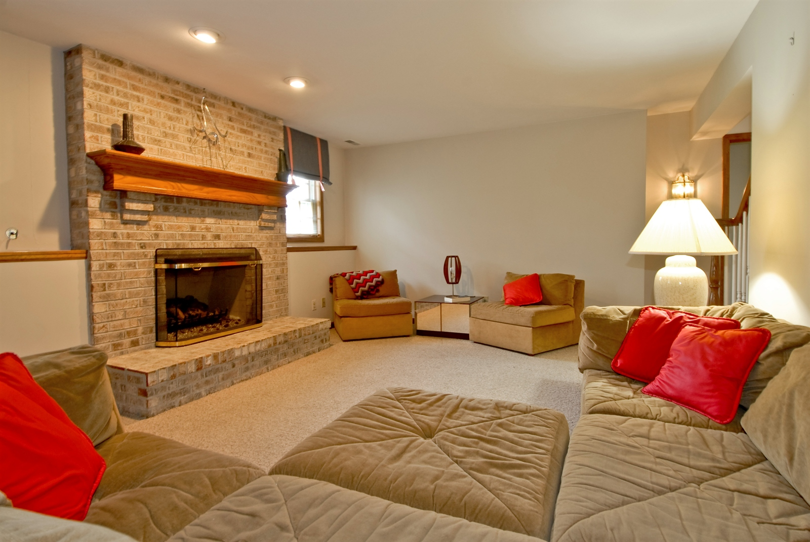 Real Estate Photography - 2608 Miller Rd, Geneva, IL, 60134 - Basement