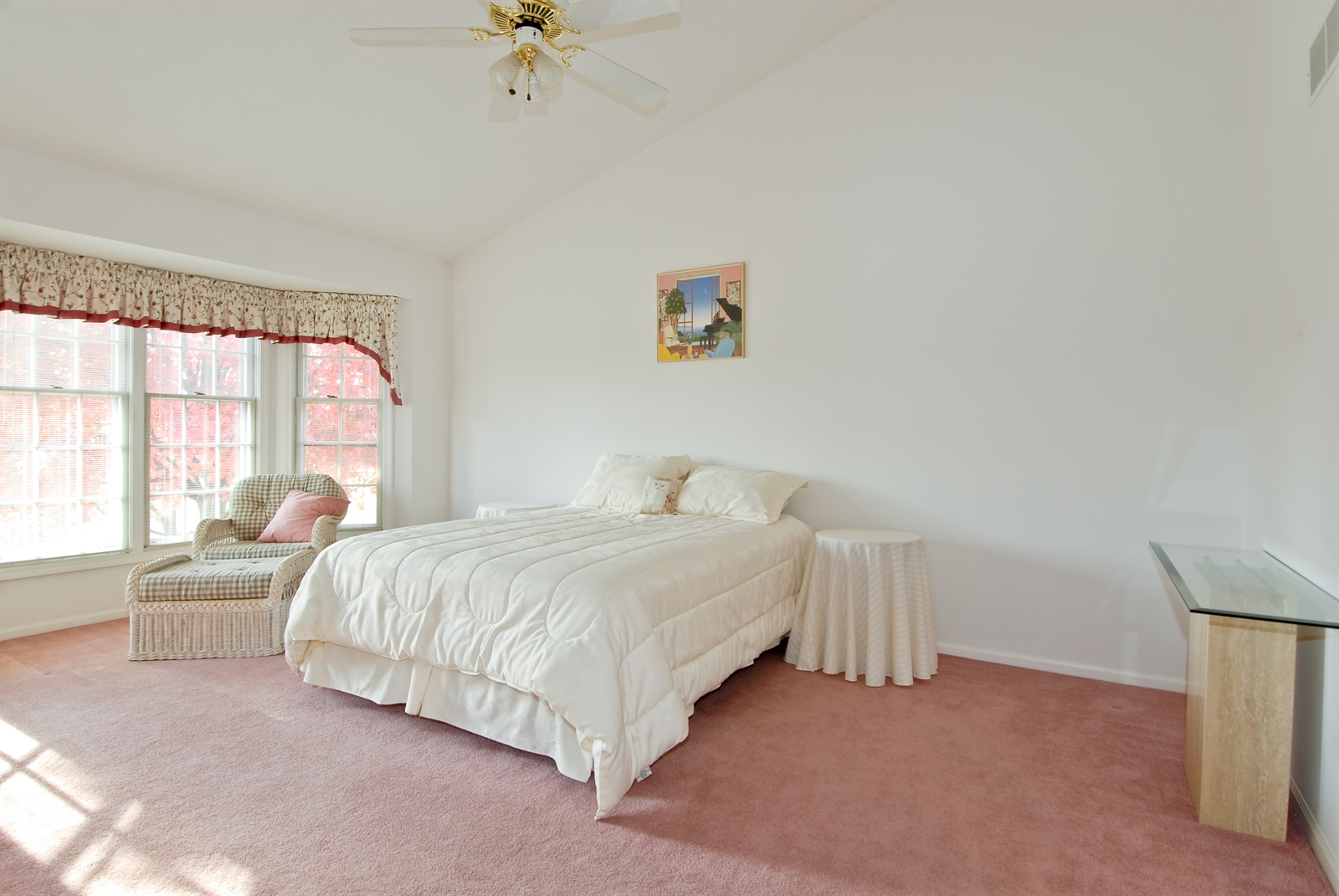 Real Estate Photography - 2608 Miller Rd, Geneva, IL, 60134 - Master Bedroom