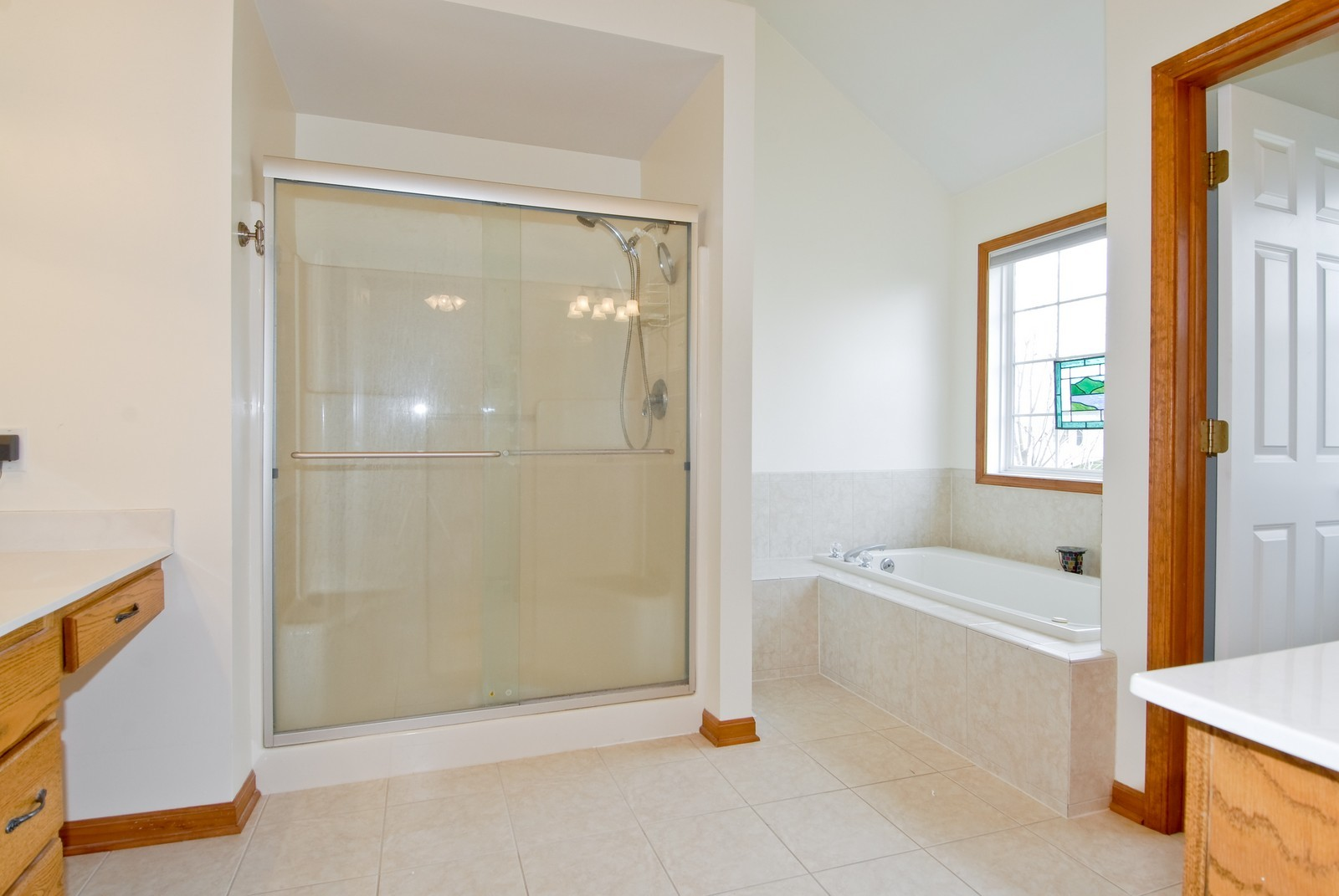 Real Estate Photography - 1154 Walker Ct, Elburn, IL, 60119 - Master Bathroom