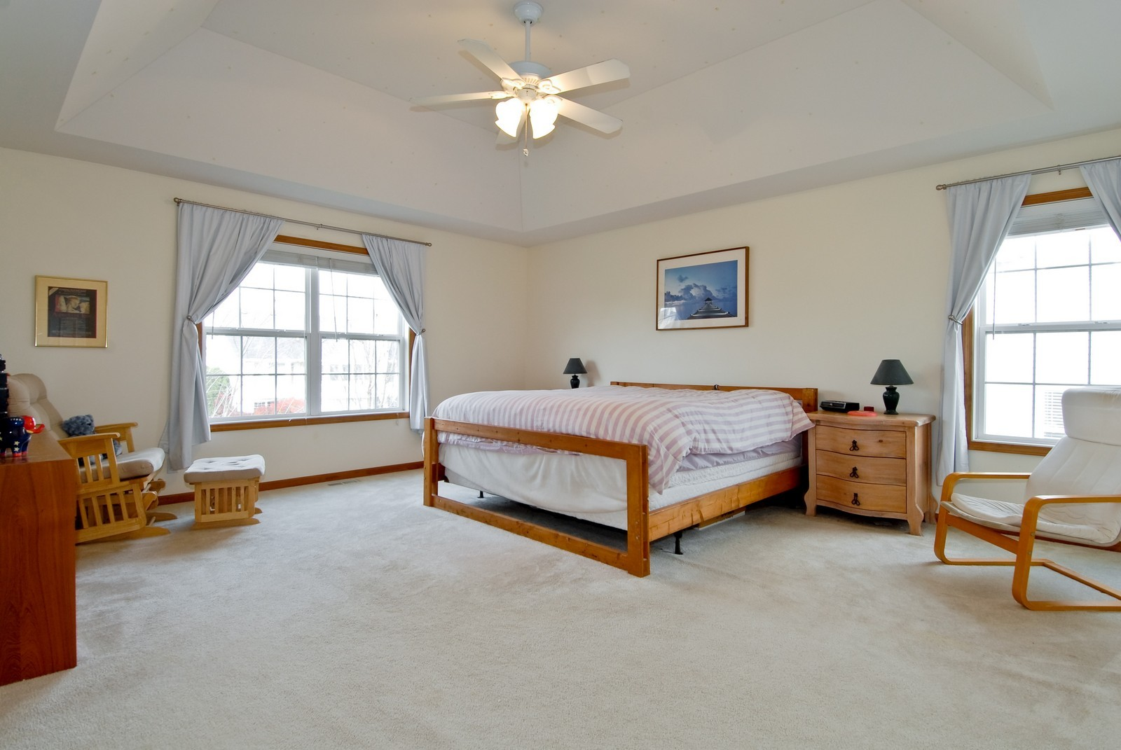 Real Estate Photography - 1154 Walker Ct, Elburn, IL, 60119 - Master Bedroom