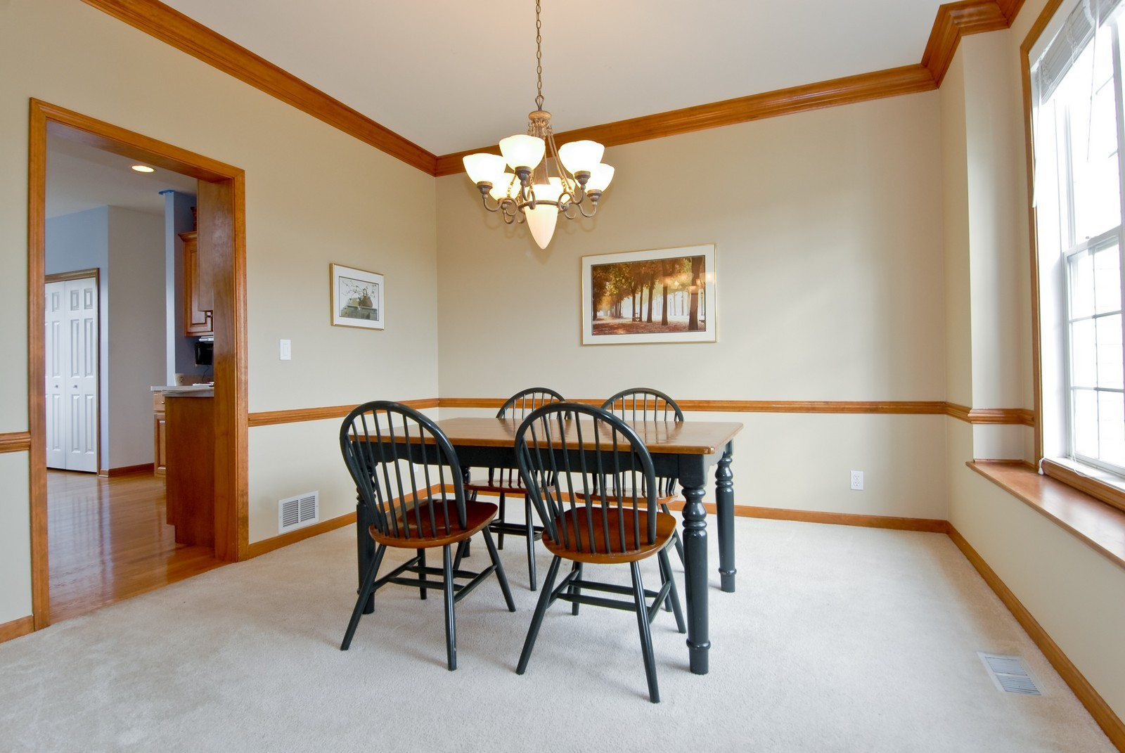 Real Estate Photography - 1154 Walker Ct, Elburn, IL, 60119 - Dining Room