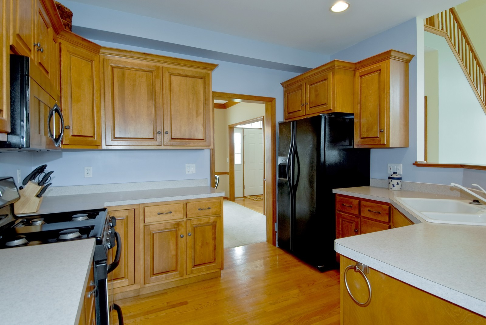 Real Estate Photography - 1154 Walker Ct, Elburn, IL, 60119 - Kitchen