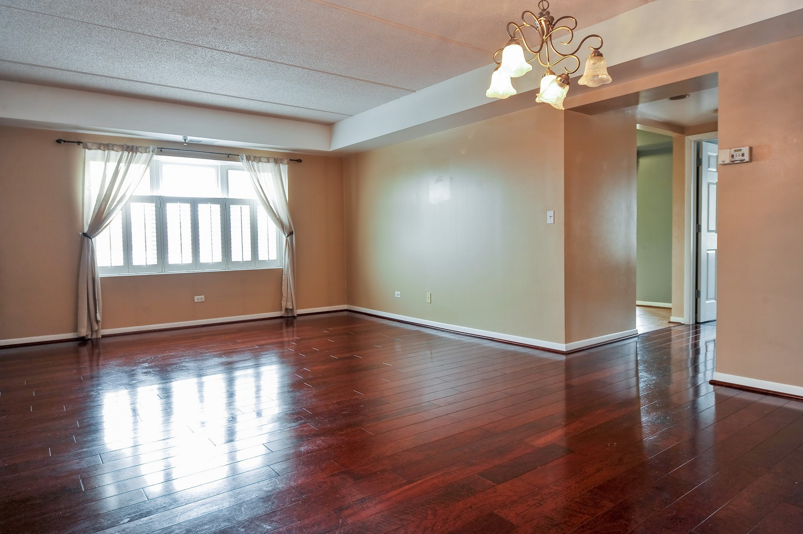 Real Estate Photography - 3303 S Grove Ave, Unit 404, Berwyn, IL, 60402 - Living Room