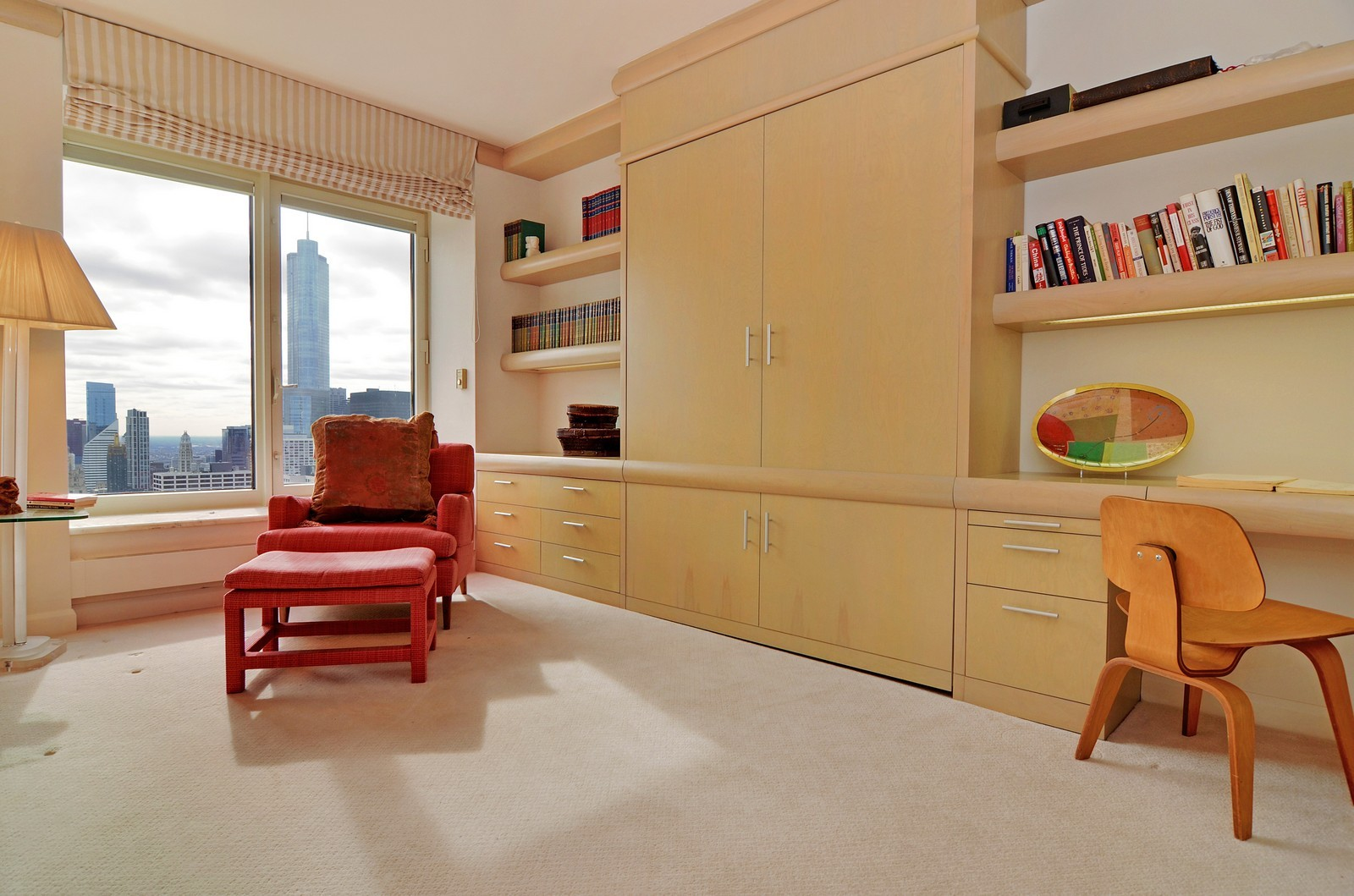 Real Estate Photography - 161 E Chicago Ave, Unit 44B, Chicago, IL, 60611 - 2nd Bedroom