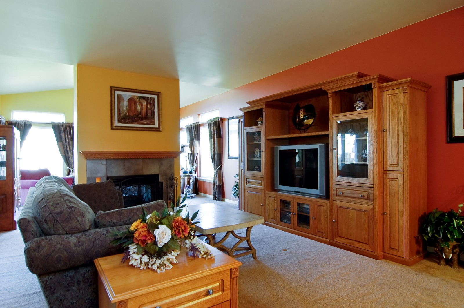Real Estate Photography - 307 Winding Ter, Genoa, IL, 60135 - Living Room