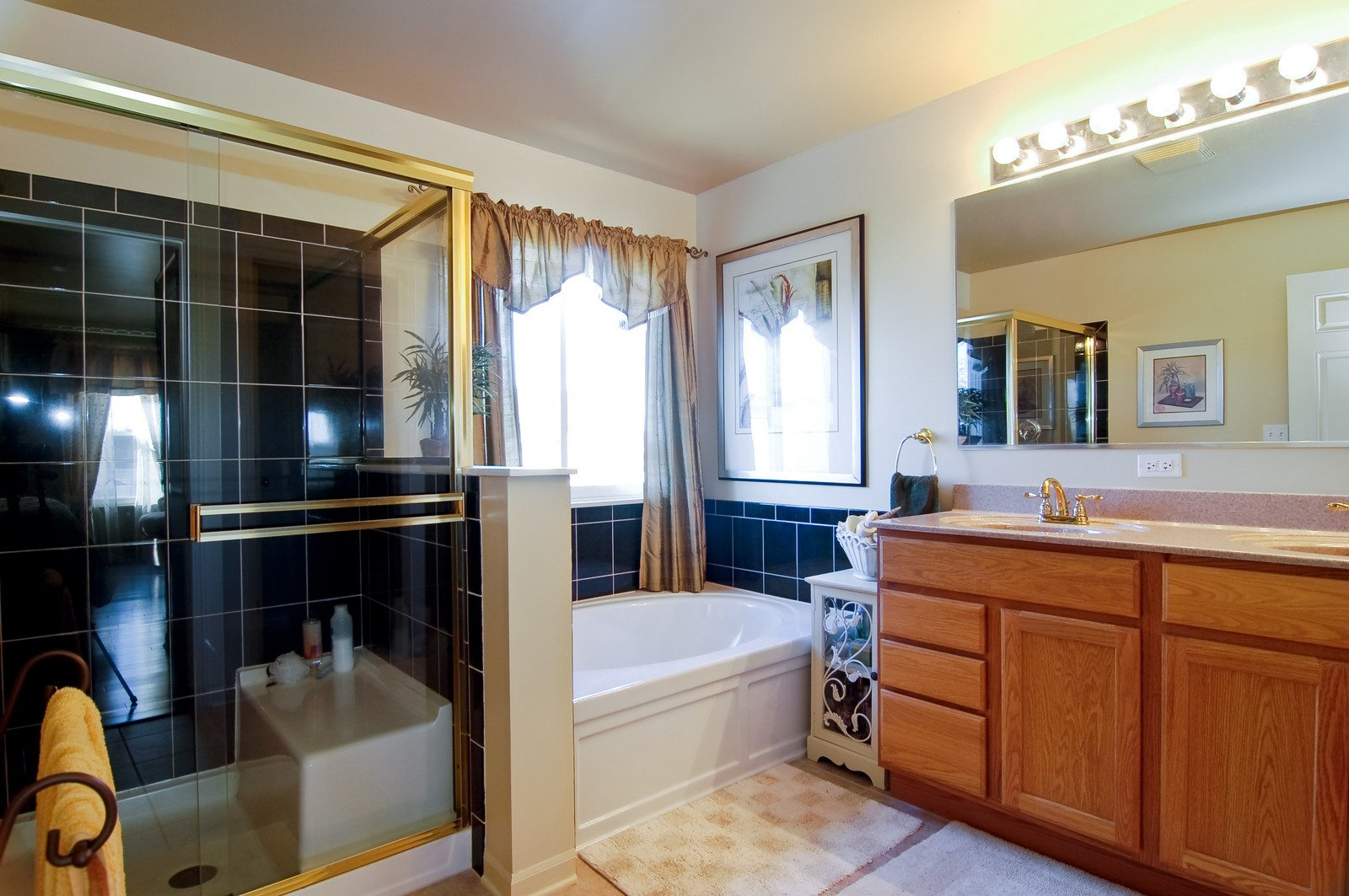 Real Estate Photography - 307 Winding Ter, Genoa, IL, 60135 - Master Bathroom