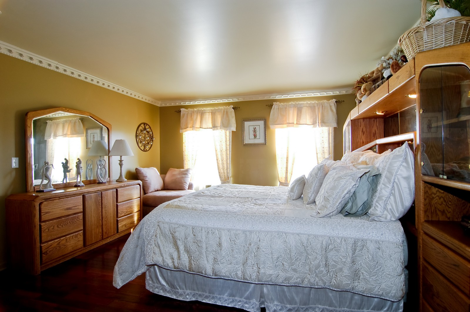 Real Estate Photography - 307 Winding Ter, Genoa, IL, 60135 - Master Bedroom
