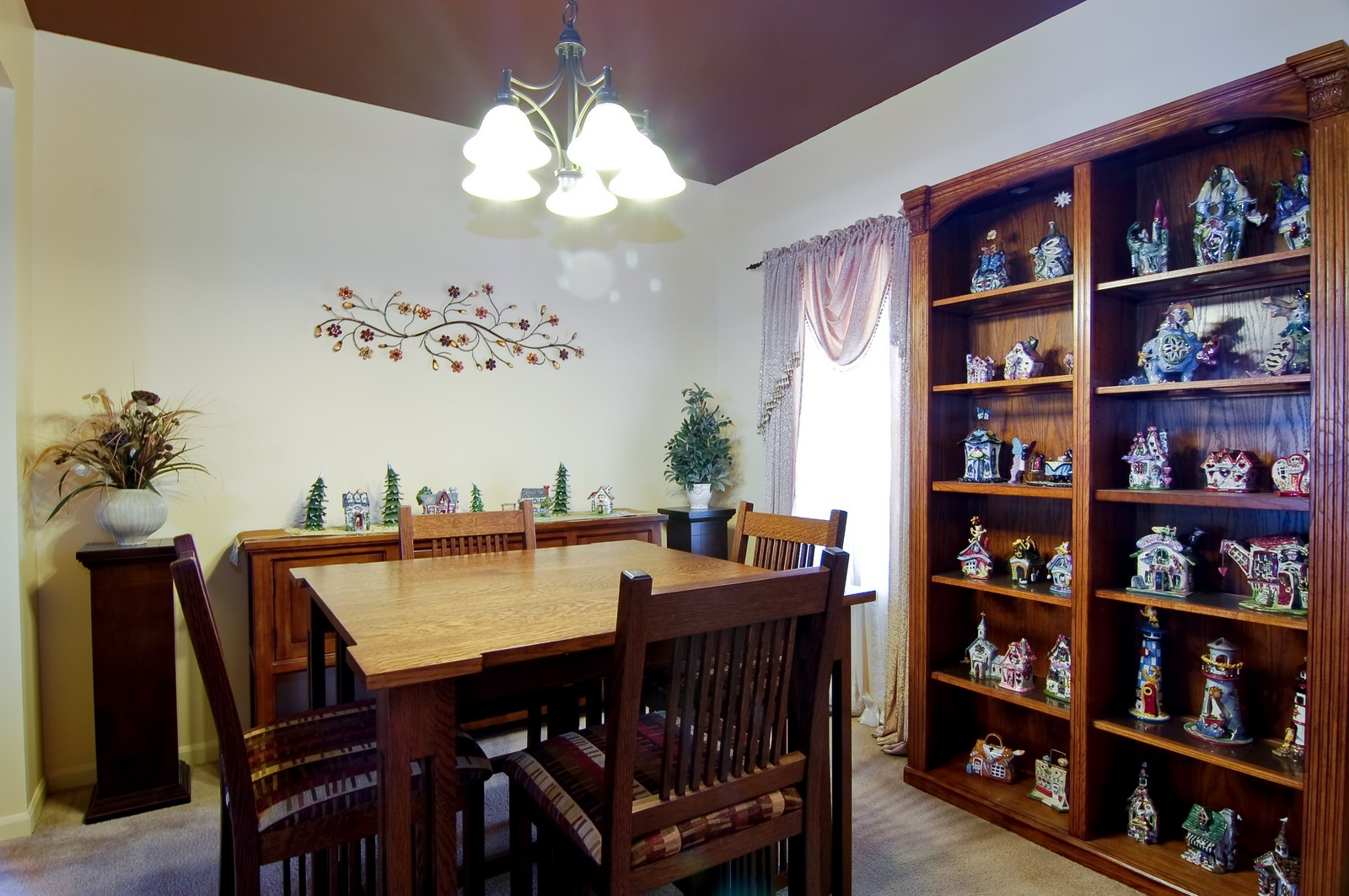 Real Estate Photography - 307 Winding Ter, Genoa, IL, 60135 - Dining Room