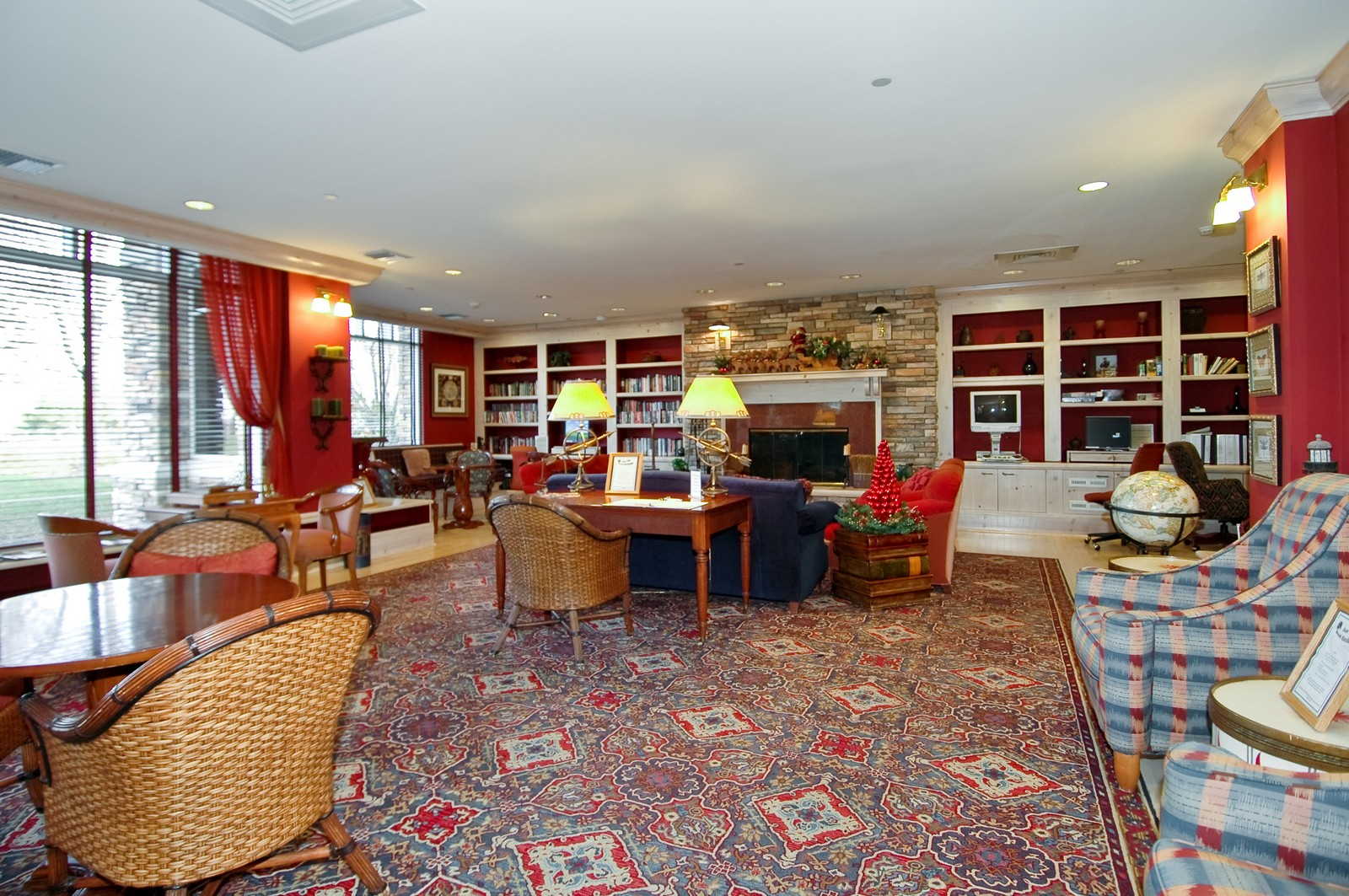 Real Estate Photography - 12344 Arlington Dr, Huntley, IL, 60142 - Reading Room