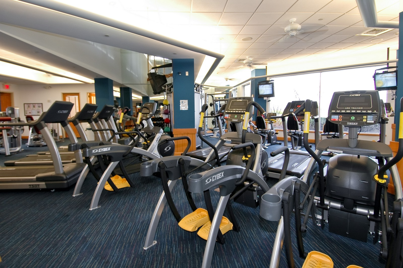 Real Estate Photography - 12344 Arlington Dr, Huntley, IL, 60142 - Fitness Center
