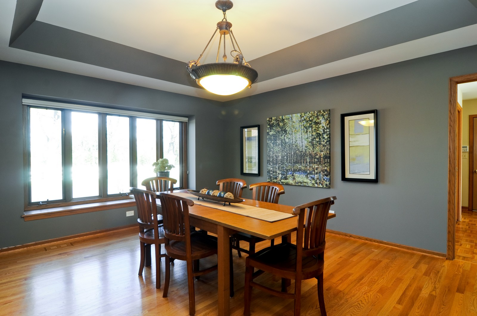 Real Estate Photography - 425 Bradwell Rd, Barrington, IL, 60010 - Dining Room