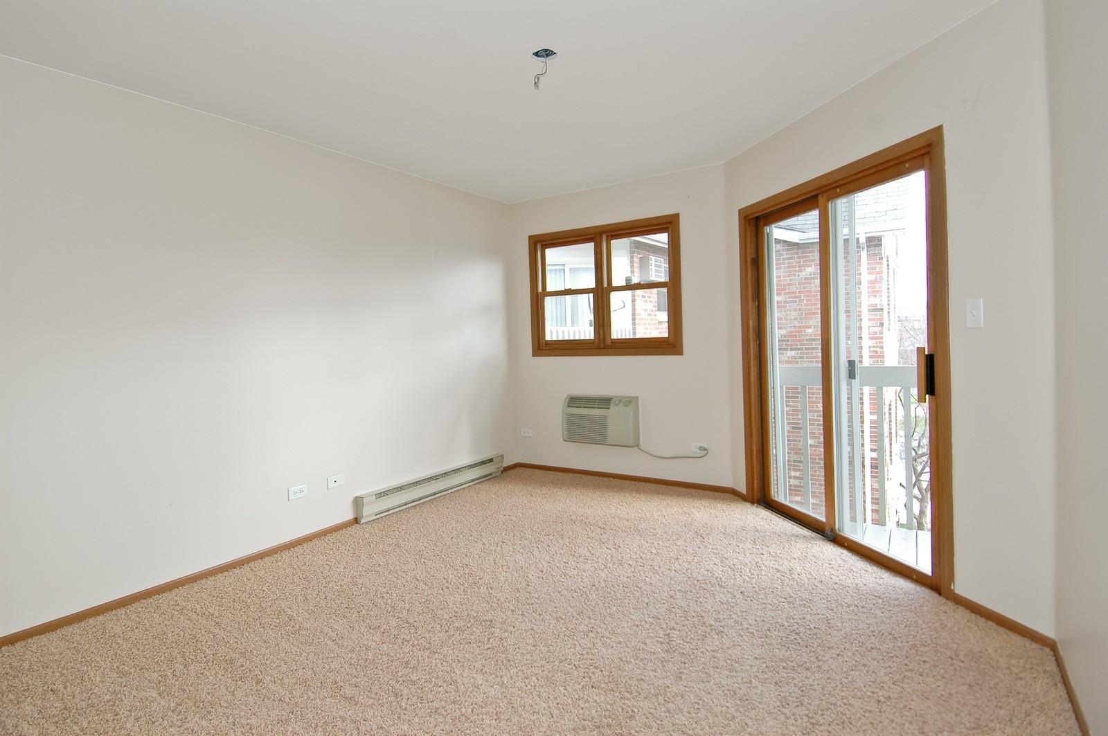 Real Estate Photography - 4314 Shamrock Ln, Unit 3B, McHenry, IL, 60050 - Bedroom