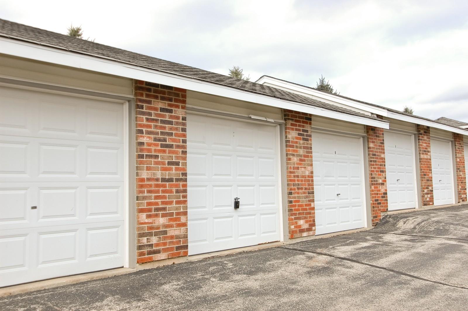 Real Estate Photography - 4314 Shamrock Ln, Unit 3B, McHenry, IL, 60050 - Garage