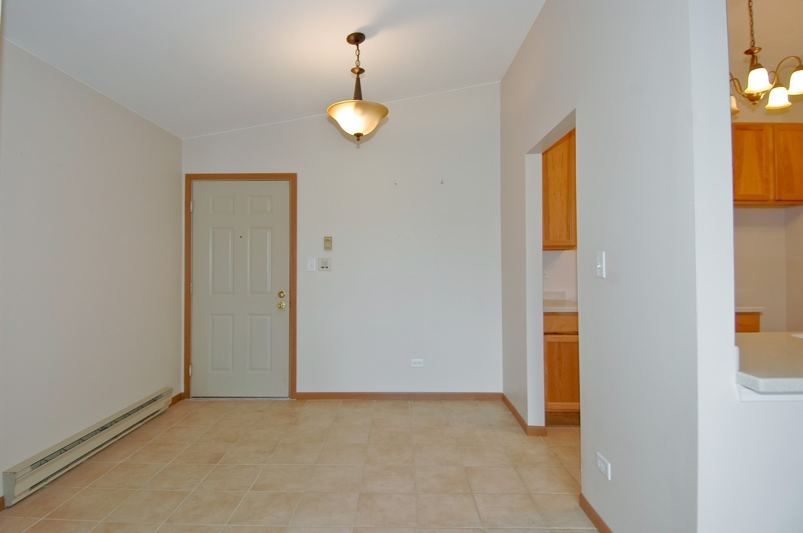 Real Estate Photography - 4314 Shamrock Ln, Unit 3B, McHenry, IL, 60050 - Kitchen / Dining Room