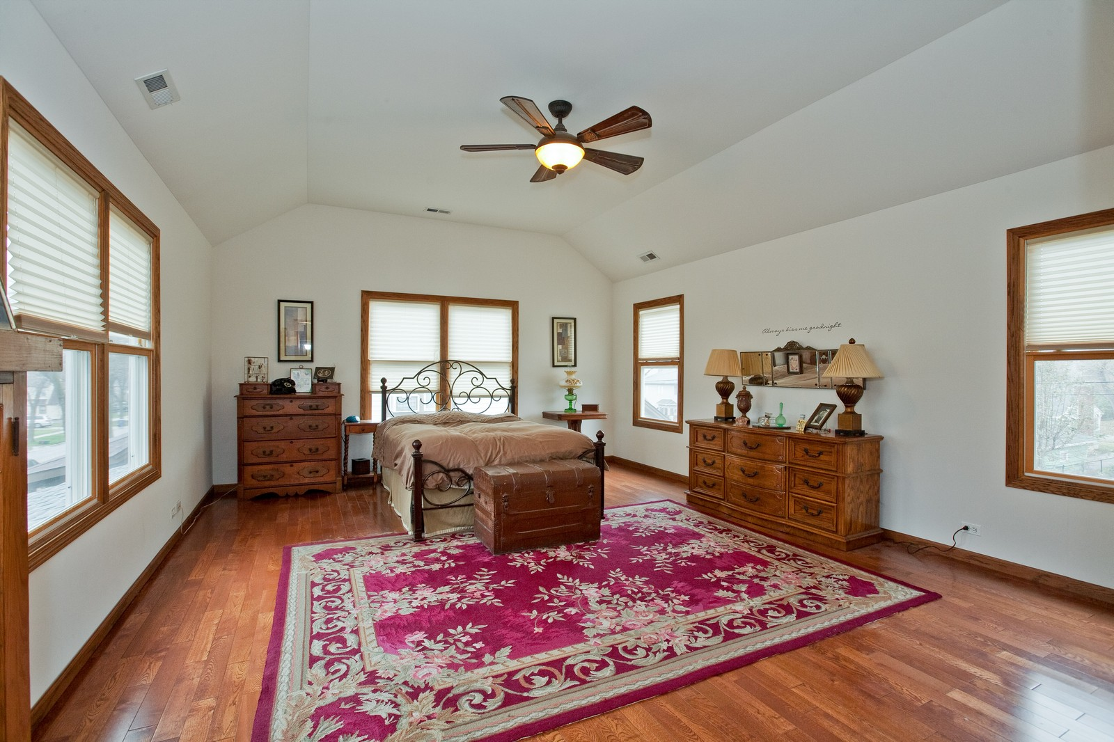 Real Estate Photography - 512 Prairie Ave, Downers Grove, IL, 60515 - Master Bedroom
