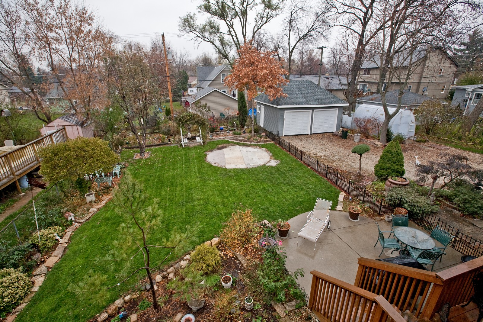 Real Estate Photography - 512 Prairie Ave, Downers Grove, IL, 60515 - Back Yard