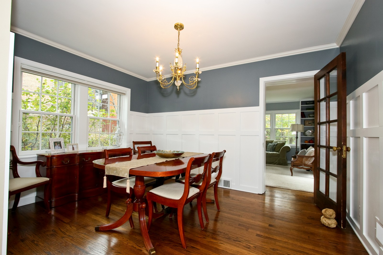 Real Estate Photography - 2235 Hutchison Rd, Flossmoor, IL, 60422 - Dining Room