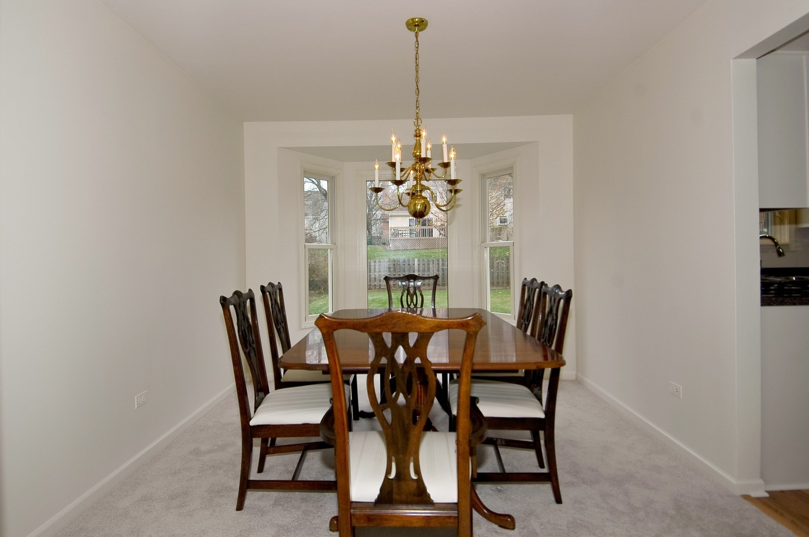 Real Estate Photography - 403 Essex Rd, Fox River Grove, IL, 60021 - Dining Room