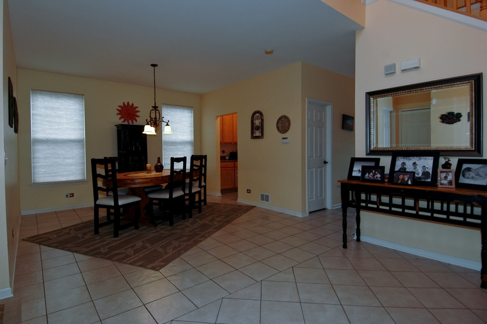 Real Estate Photography - 561 Golden Valley Ln, Algonquin, IL, 60102 - Foyer/Dining Room