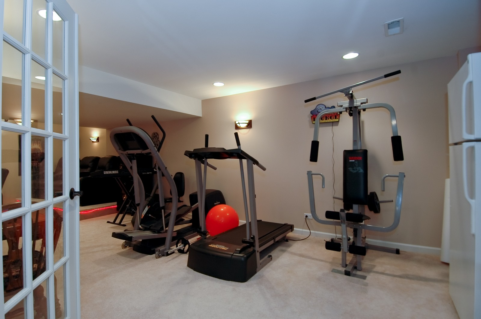 Real Estate Photography - 561 Golden Valley Ln, Algonquin, IL, 60102 - Exercise Room