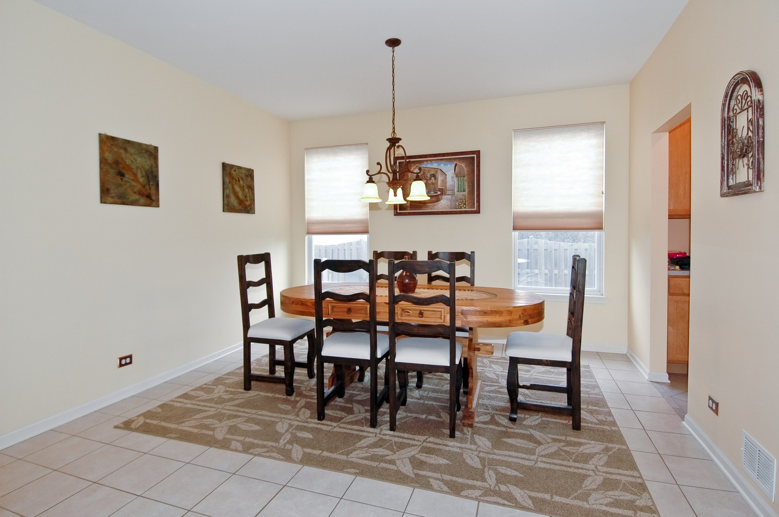 Real Estate Photography - 561 Golden Valley Ln, Algonquin, IL, 60102 - Dining Room