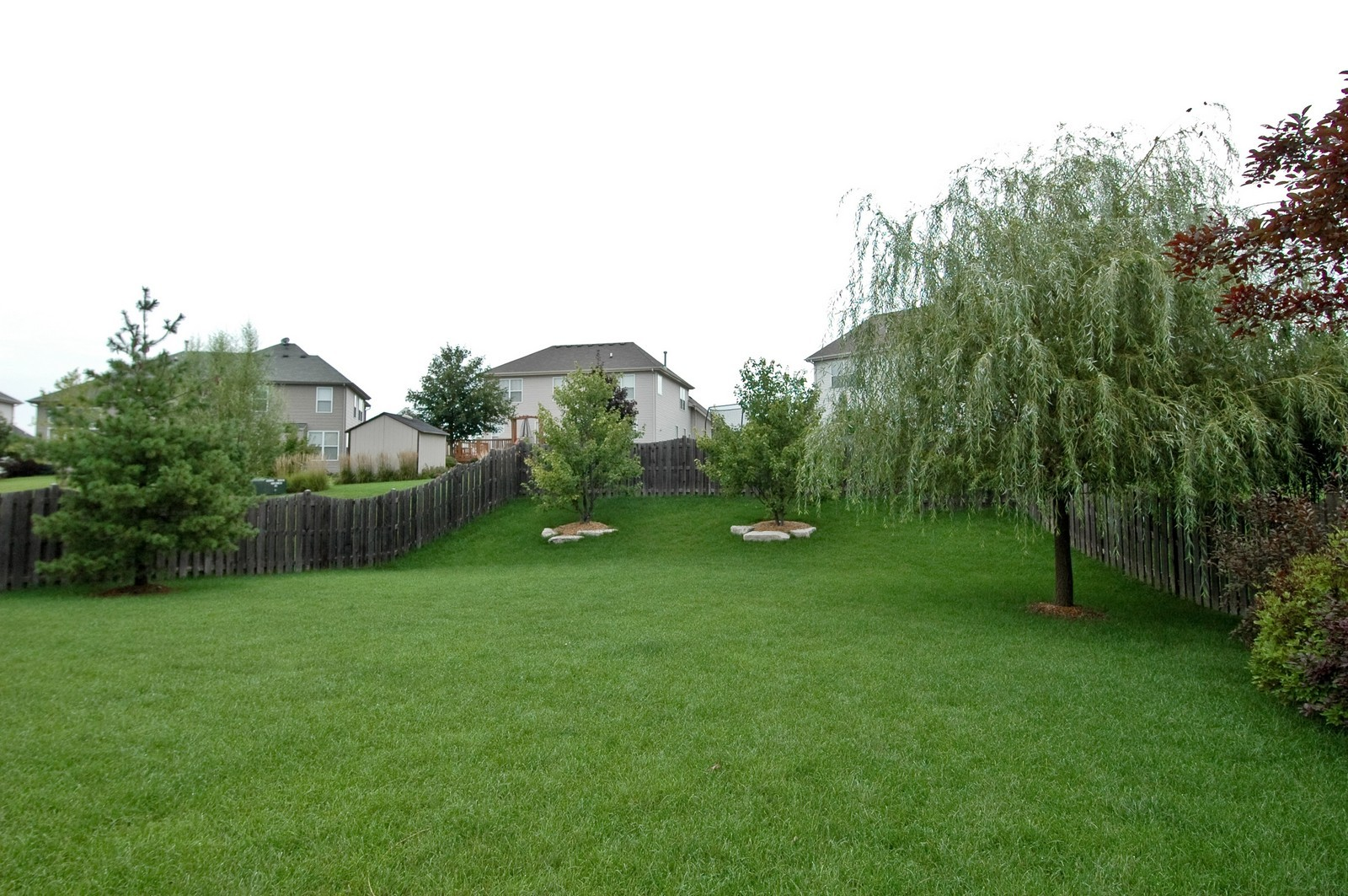 Real Estate Photography - 561 Golden Valley Ln, Algonquin, IL, 60102 - Back Yard