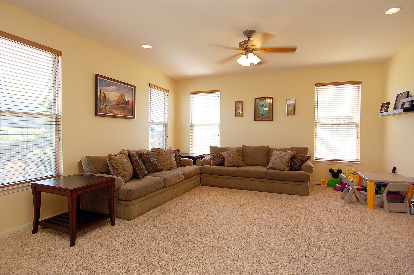 Real Estate Photography - 561 Golden Valley Ln, Algonquin, IL, 60102 - Family Room
