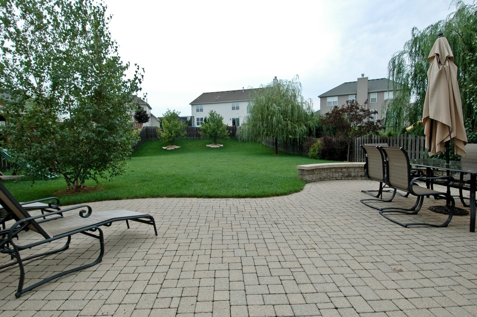 Real Estate Photography - 561 Golden Valley Ln, Algonquin, IL, 60102 - Patio