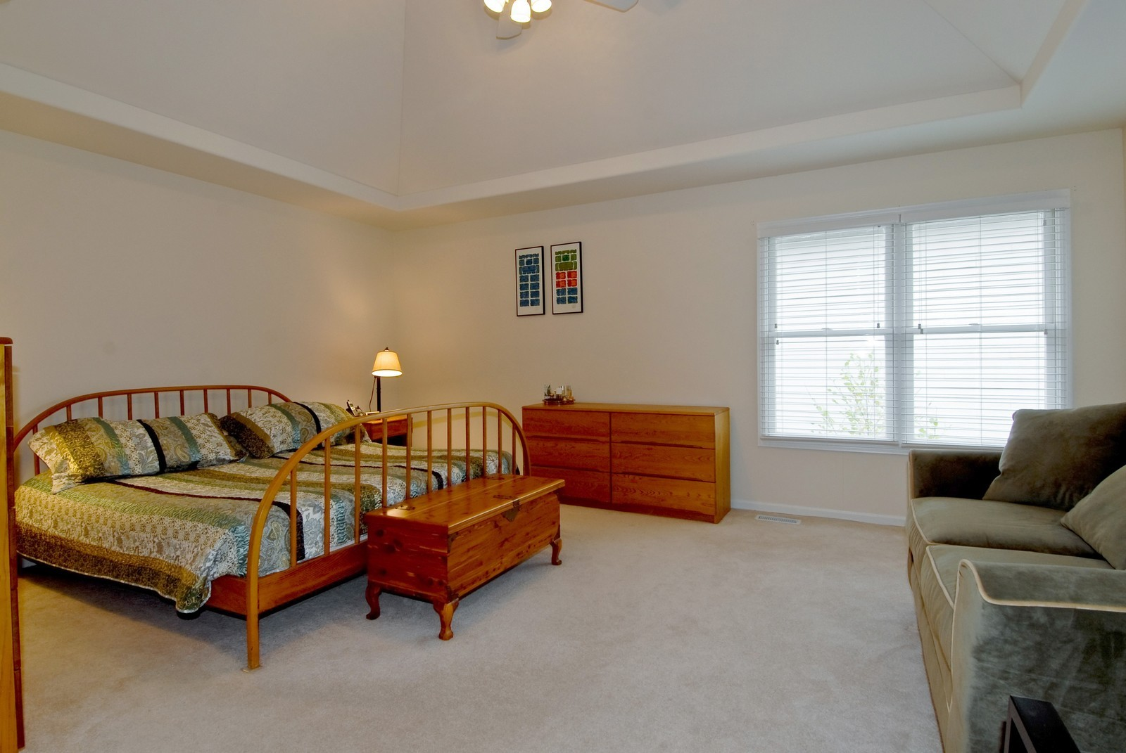 Real Estate Photography - 2111 Sisters Ave, Naperville, IL, 60564 - Master Bedroom