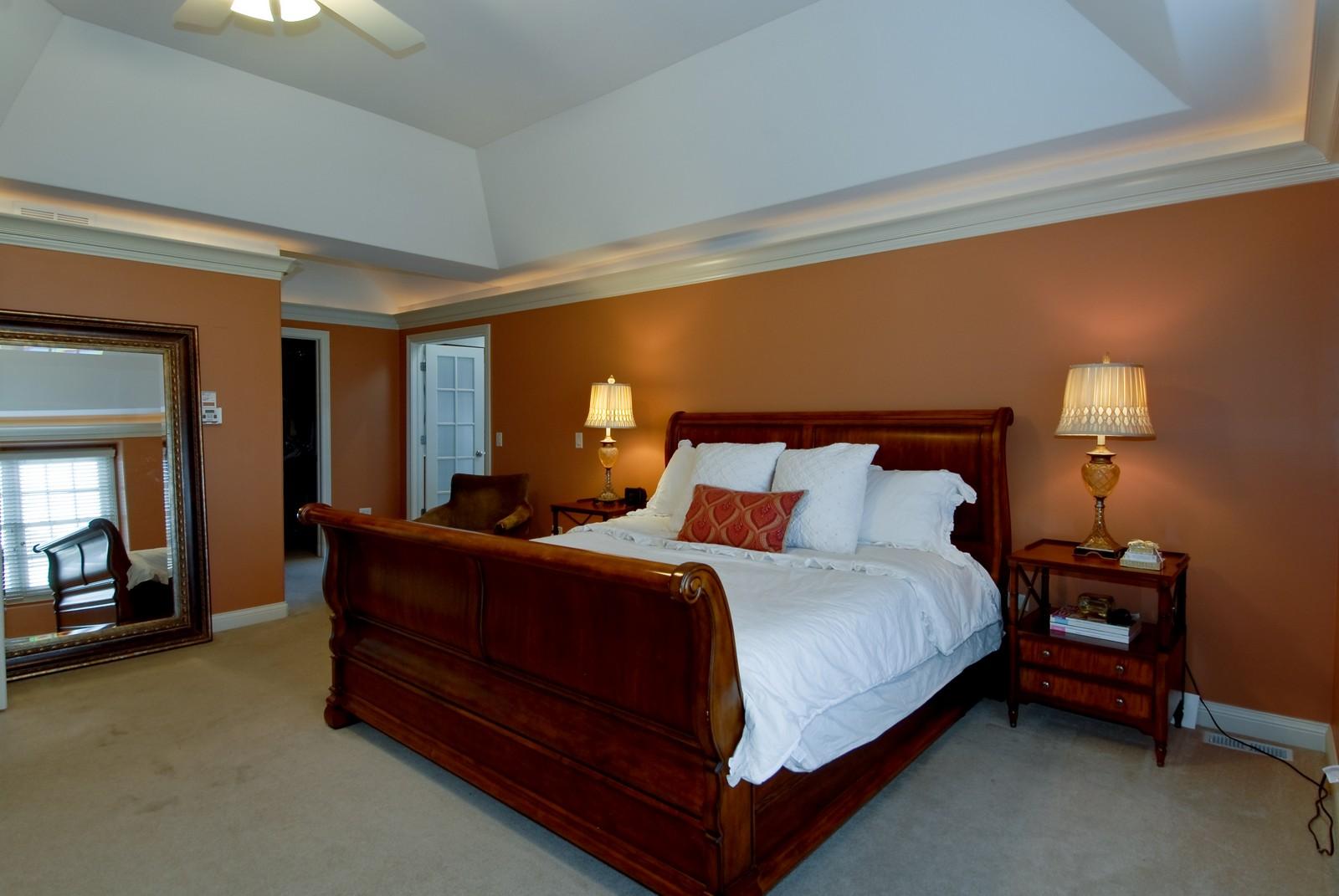 Real Estate Photography - 3839 Junebreeze Ln, Naperville, IL, 60564 - Master Bedroom