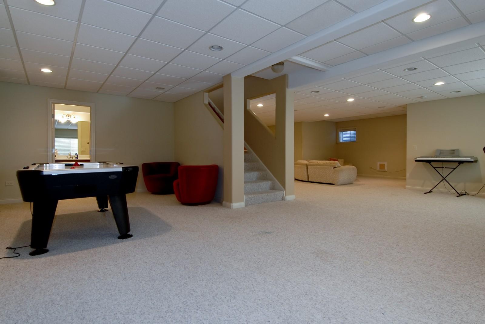 Real Estate Photography - 3839 Junebreeze Ln, Naperville, IL, 60564 - Basement