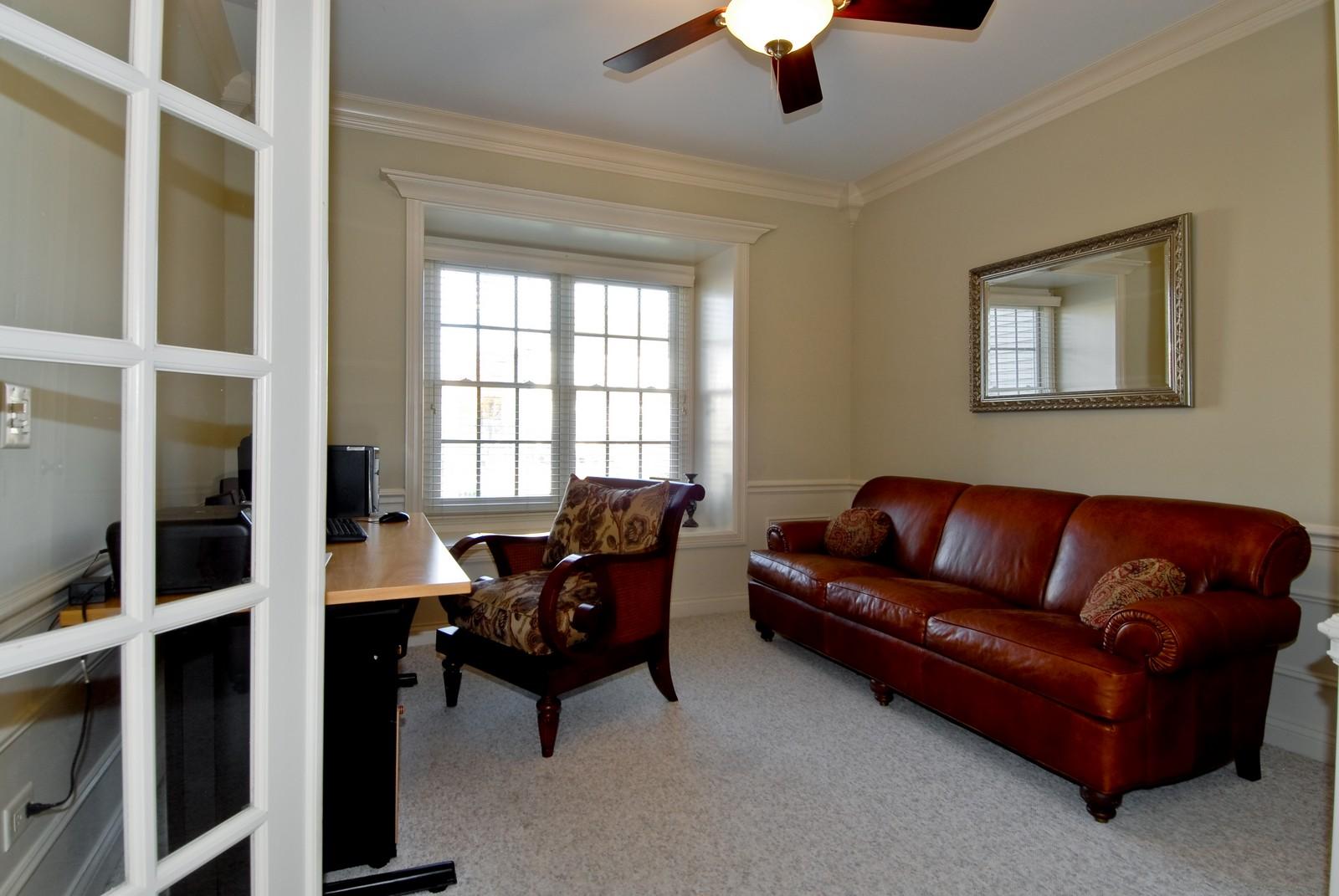 Real Estate Photography - 3839 Junebreeze Ln, Naperville, IL, 60564 - Den