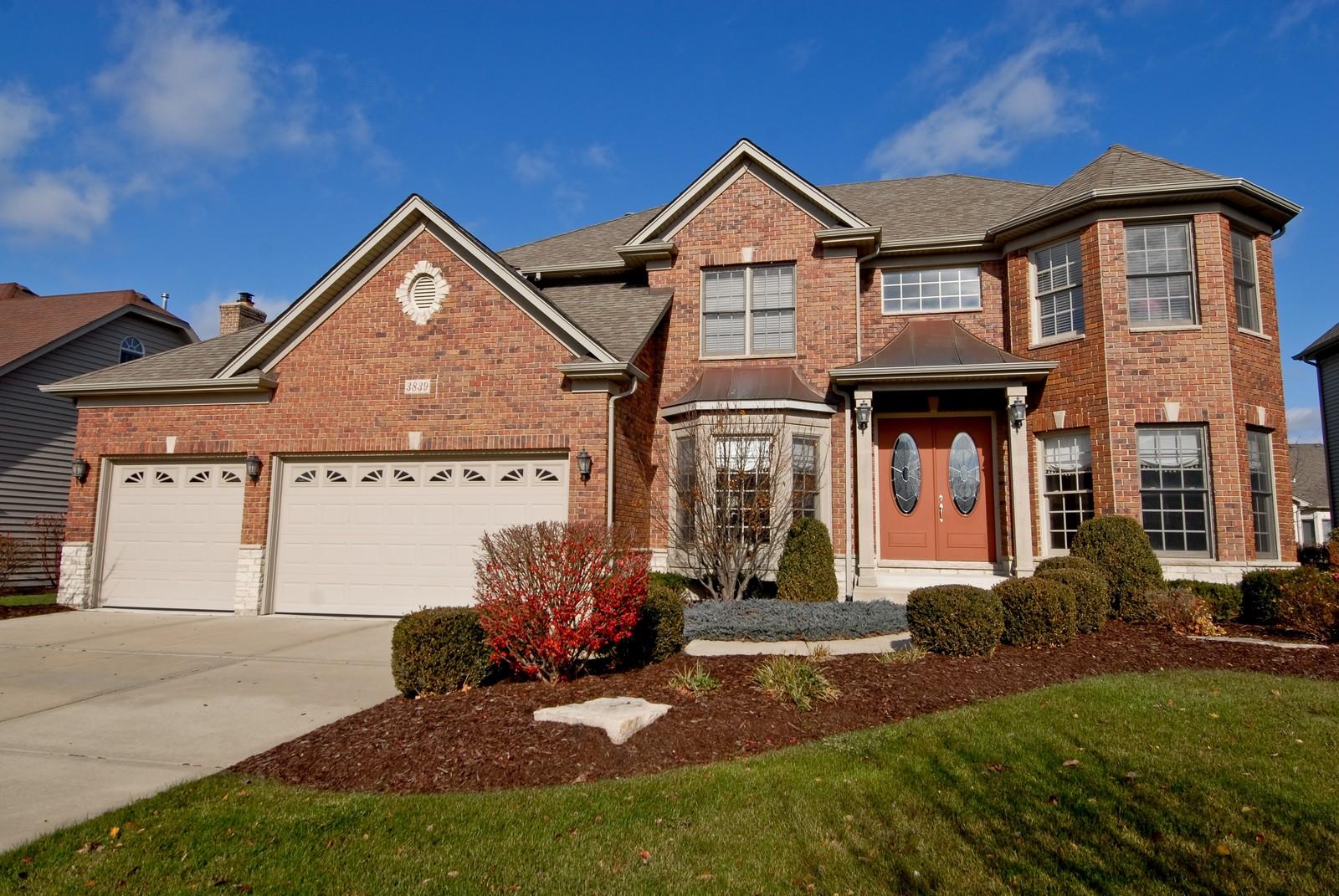 Real Estate Photography - 3839 Junebreeze Ln, Naperville, IL, 60564 - Front View