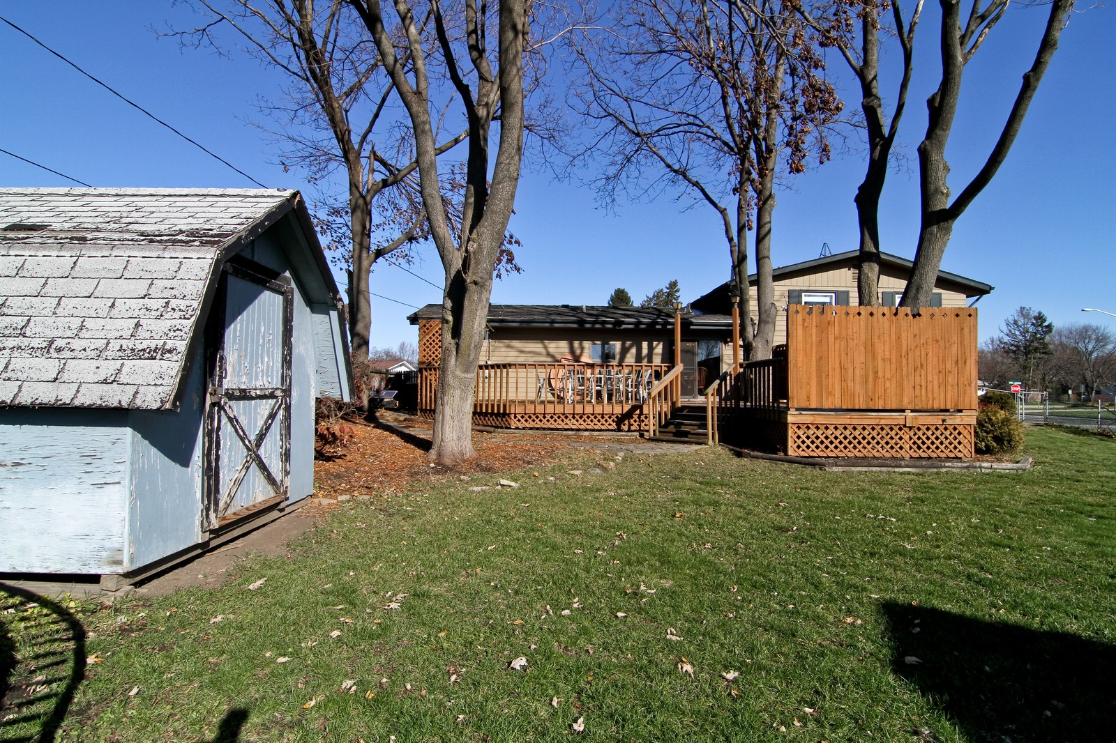 Real Estate Photography - 368 Thunderbird Trl, Carol Stream, IL, 60188 - Rear View