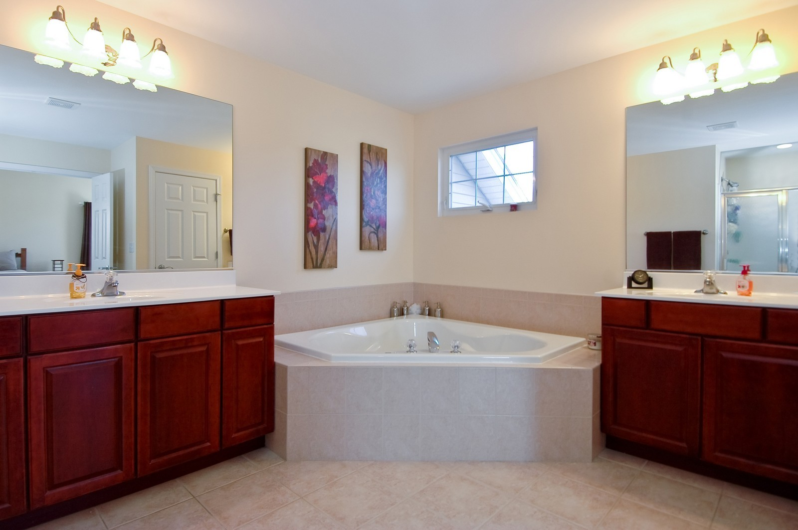 Real Estate Photography - 1513 Rolling Hills Dr, Crystal Lake, IL, 60014 - Master Bathroom