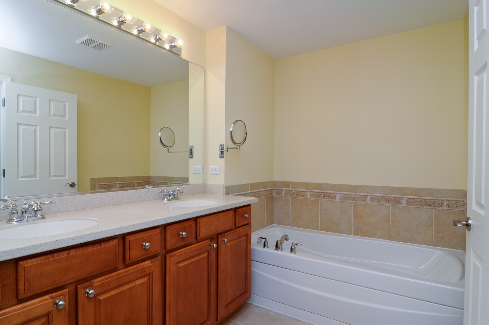 Real Estate Photography - 1004 Orchard Pond Ct, Lake Zurich, IL, 60047 - Master Bathroom