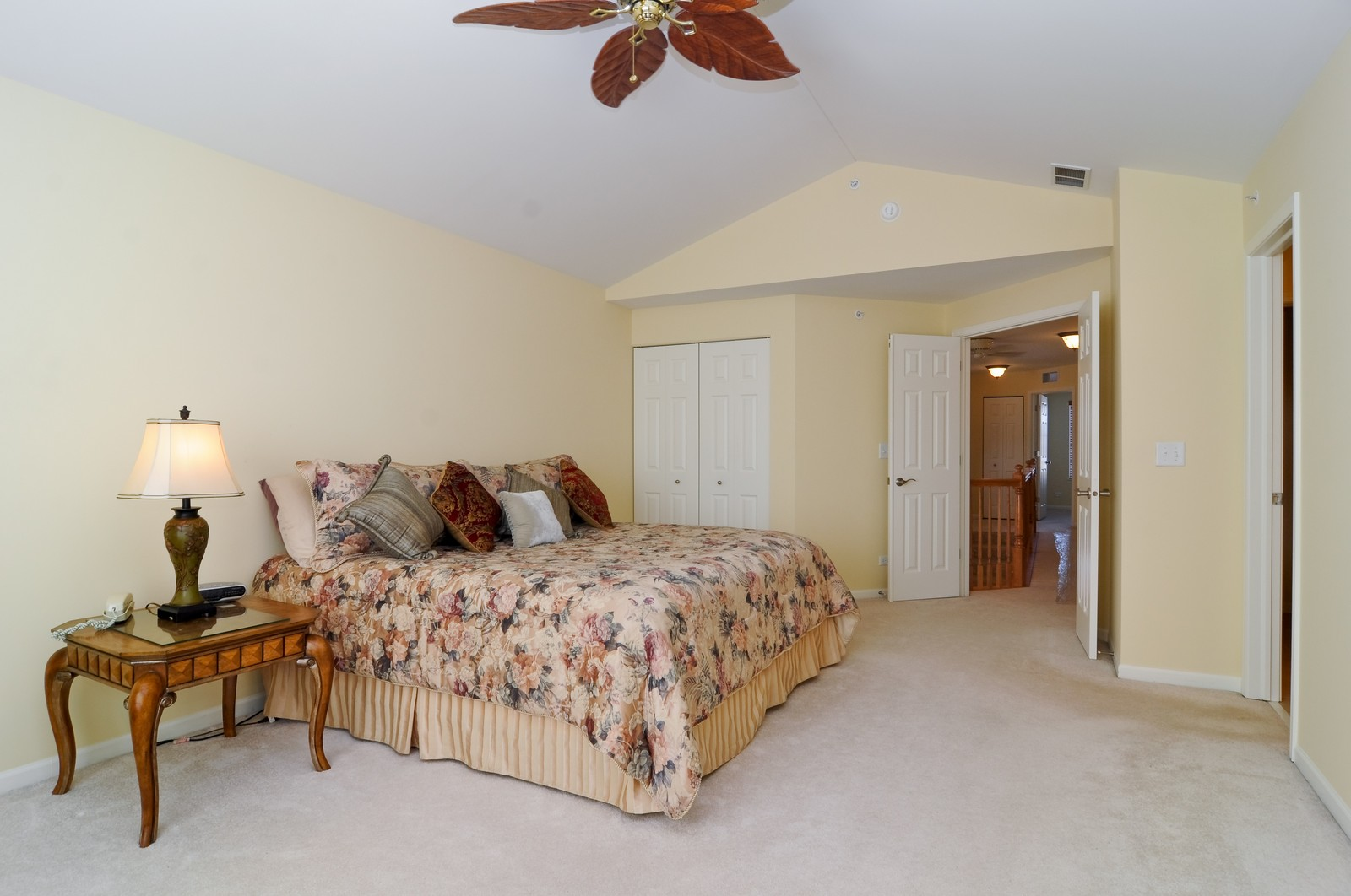 Real Estate Photography - 1004 Orchard Pond Ct, Lake Zurich, IL, 60047 - Master Bedroom