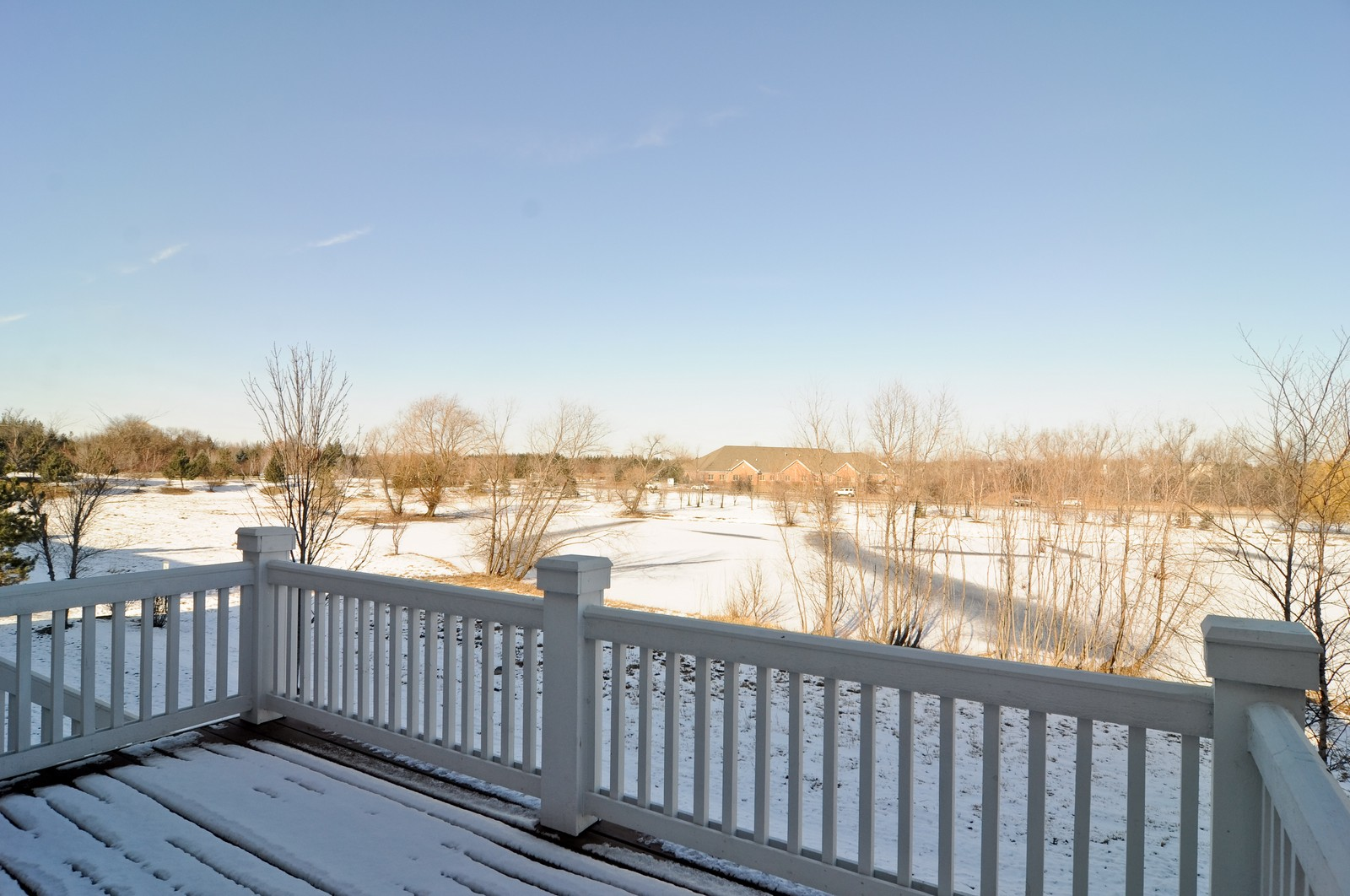 Real Estate Photography - 1004 Orchard Pond Ct, Lake Zurich, IL, 60047 - Deck