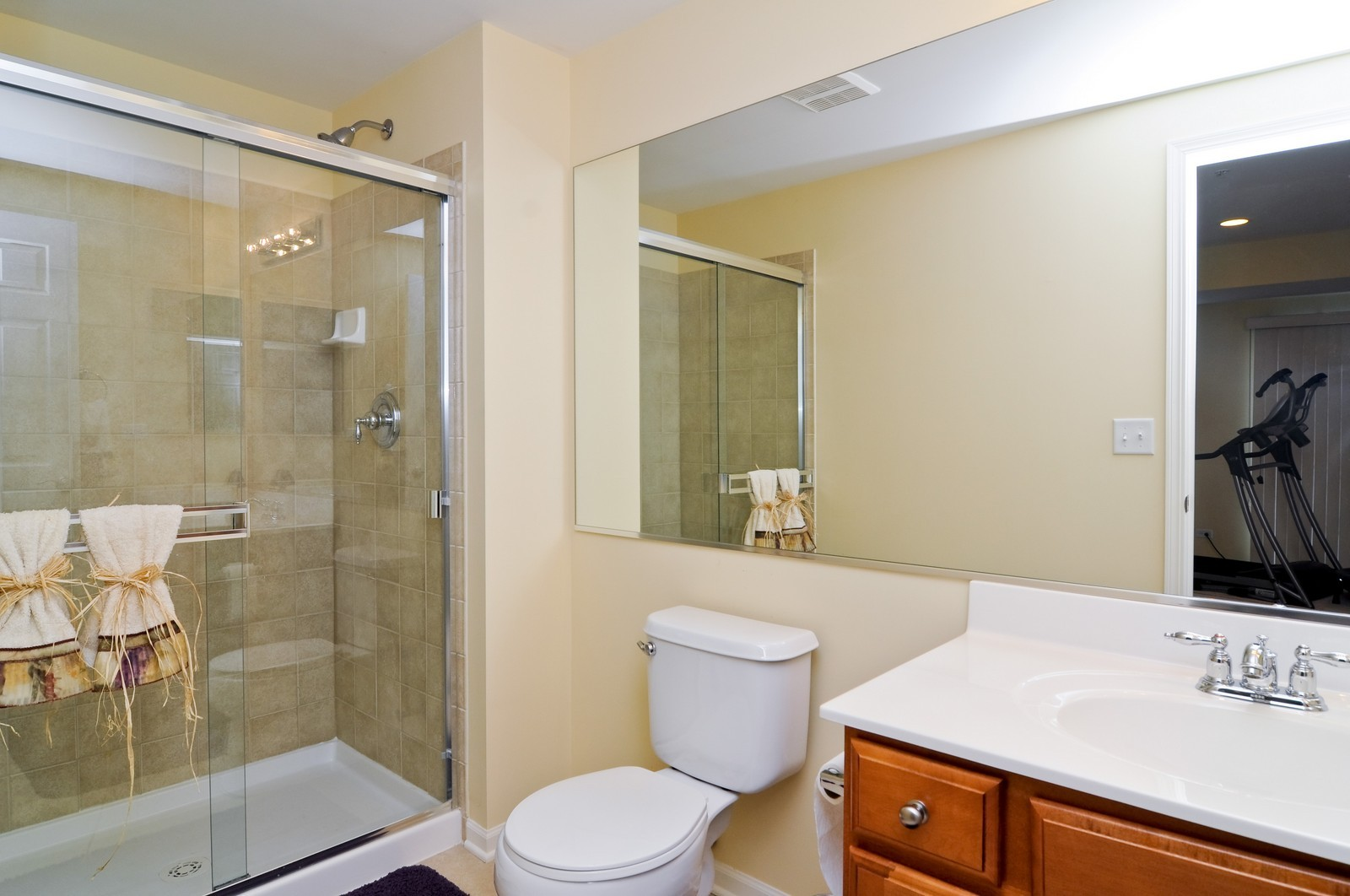 Real Estate Photography - 1004 Orchard Pond Ct, Lake Zurich, IL, 60047 - Bathroom