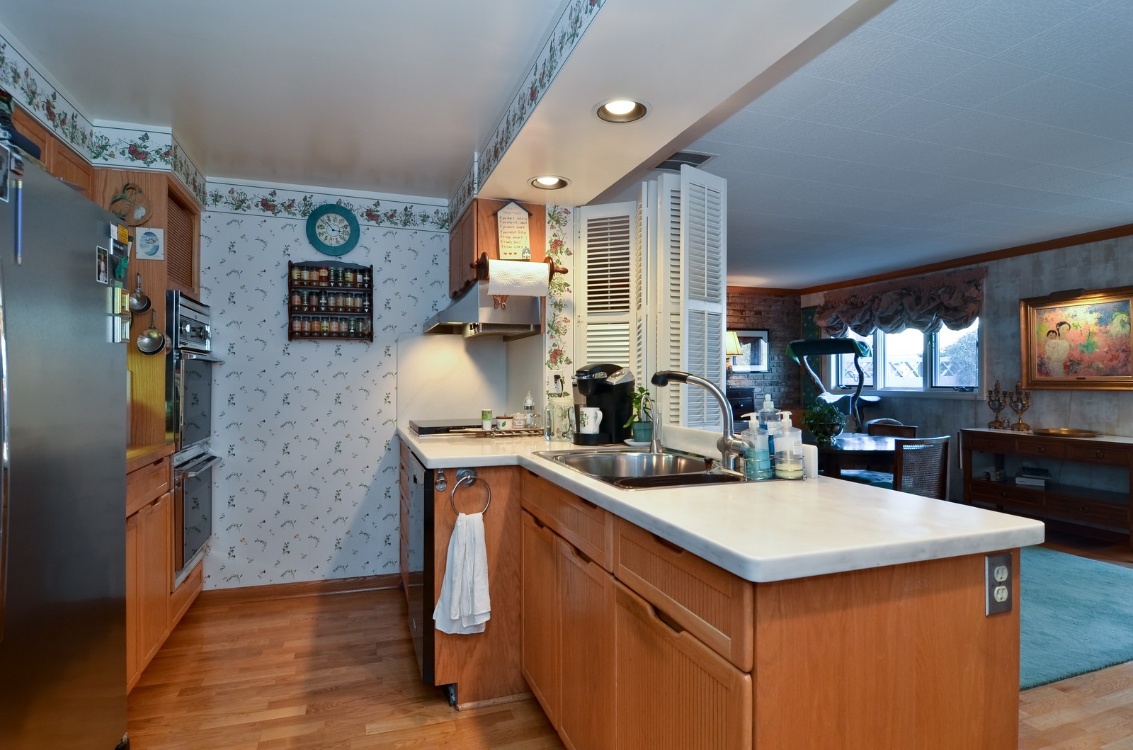 Real Estate Photography - 308 W Frontage Rd, Northfield, IL, 60093 - Kitchen