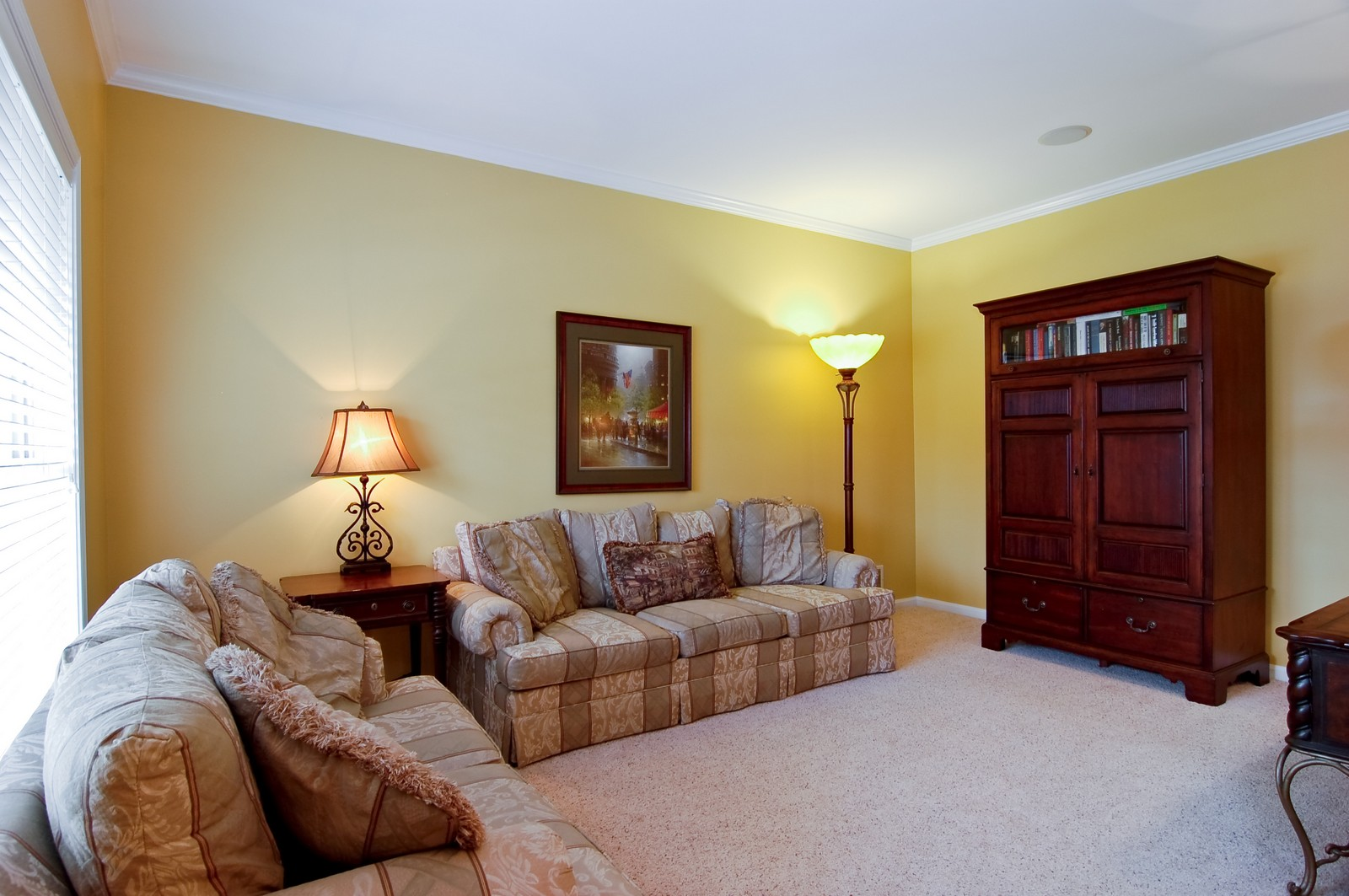 Real Estate Photography - 0S580 Preston Cir, Geneva, IL, 60134 - Living Room