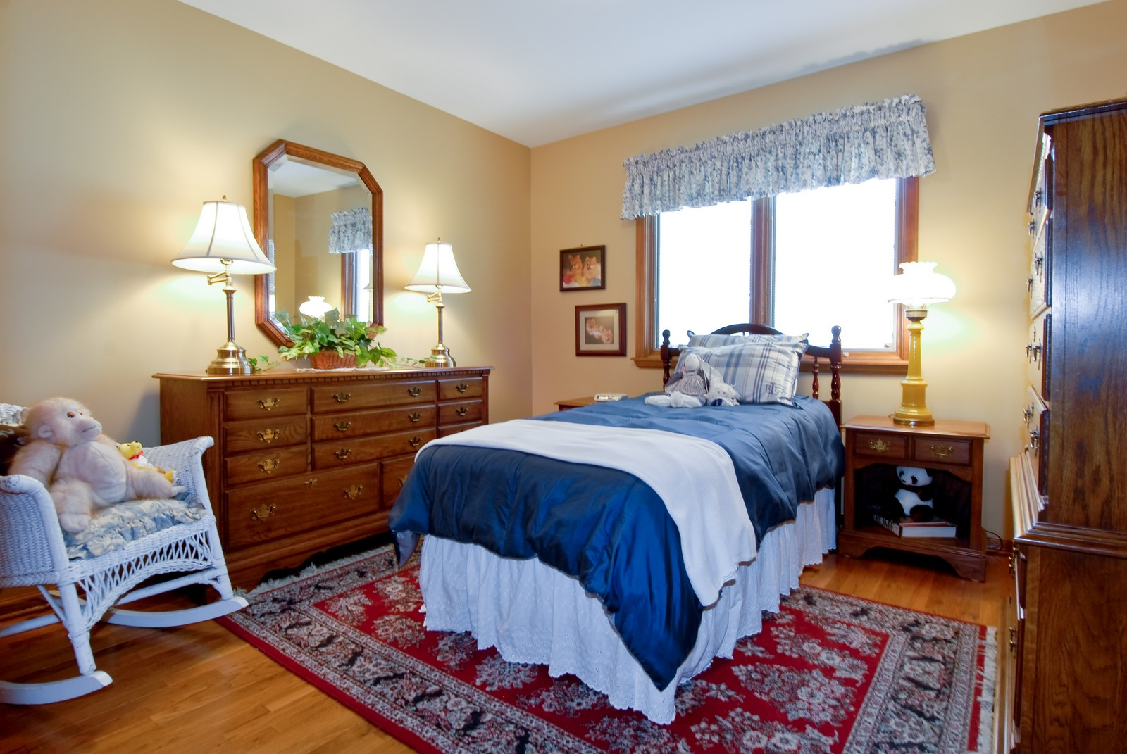 Real Estate Photography - 14 N Dixon Rd, Batavia, IL, 60510 - 3rd Bedroom